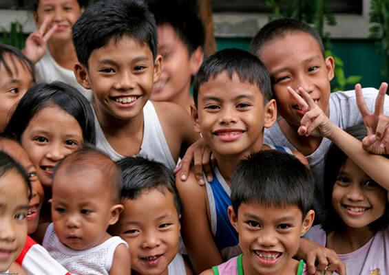 菲律宾儿童的英语