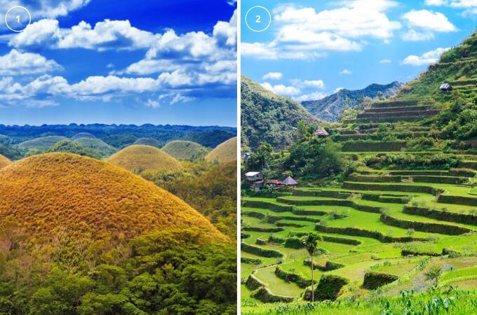 菲律宾游学巧克力山峰