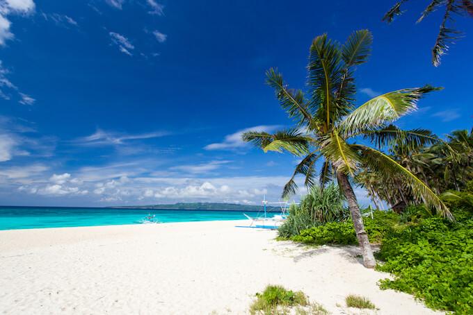 菲律宾游学白沙滩
